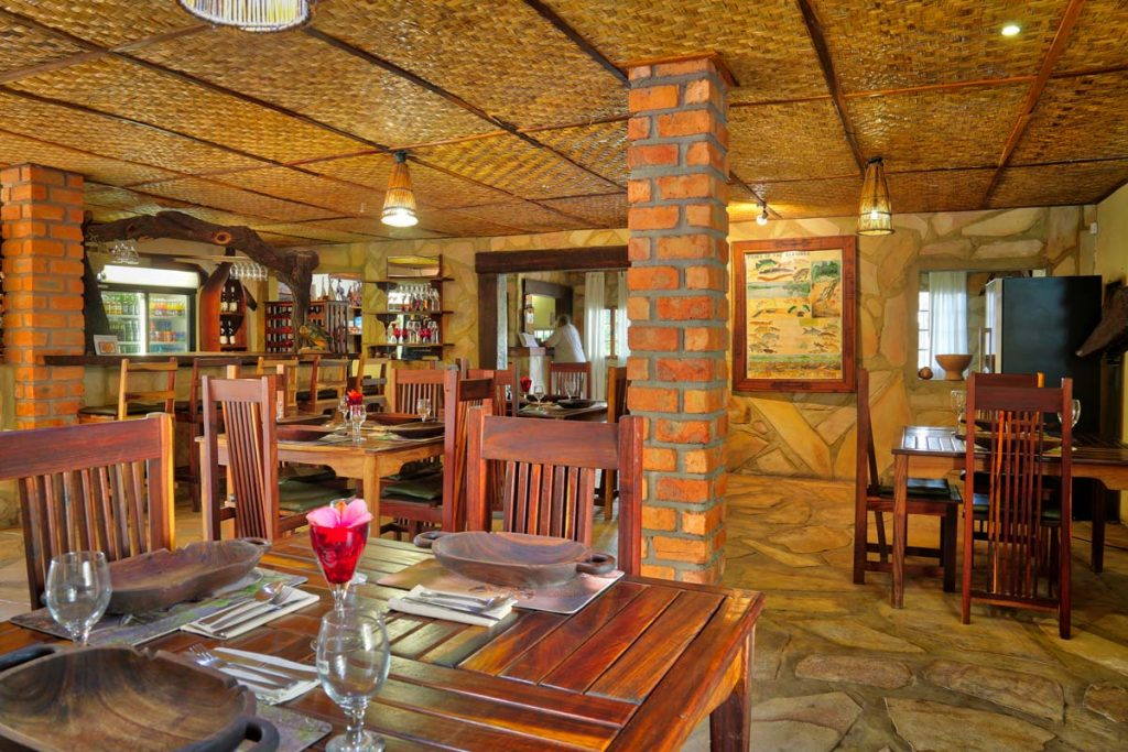 Tambuti Lodge restaurant